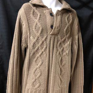 NWOT Men's Heavy Knit Sweater